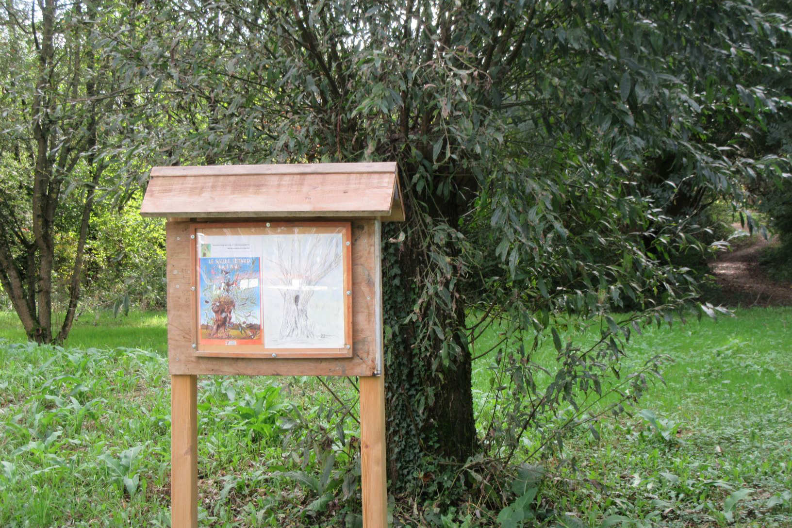 Sentier botanique à Herrlisheim