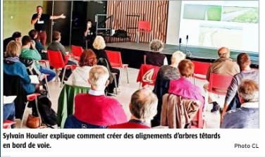 Projection et conférence autour des trognes – L'Eschalou – 6 octobre 2020